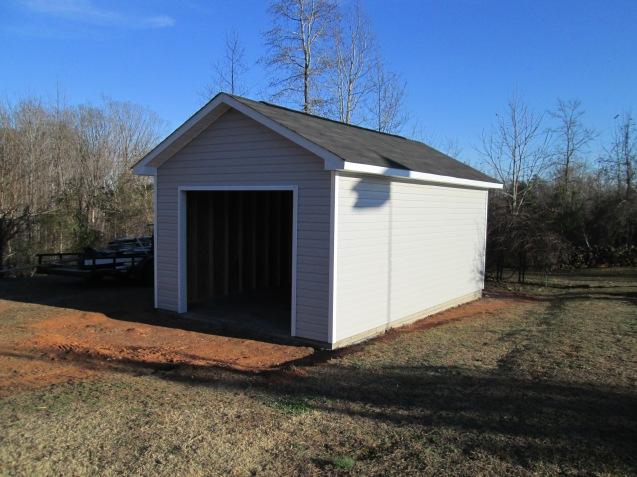 Single Car Garage The Carolina Carpenter