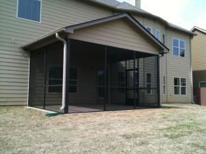Screen Porch built in Tanner Estates.