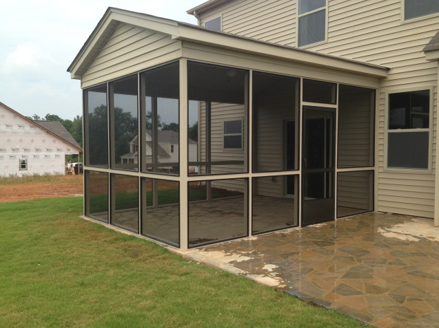 bronze screeneze porch addition