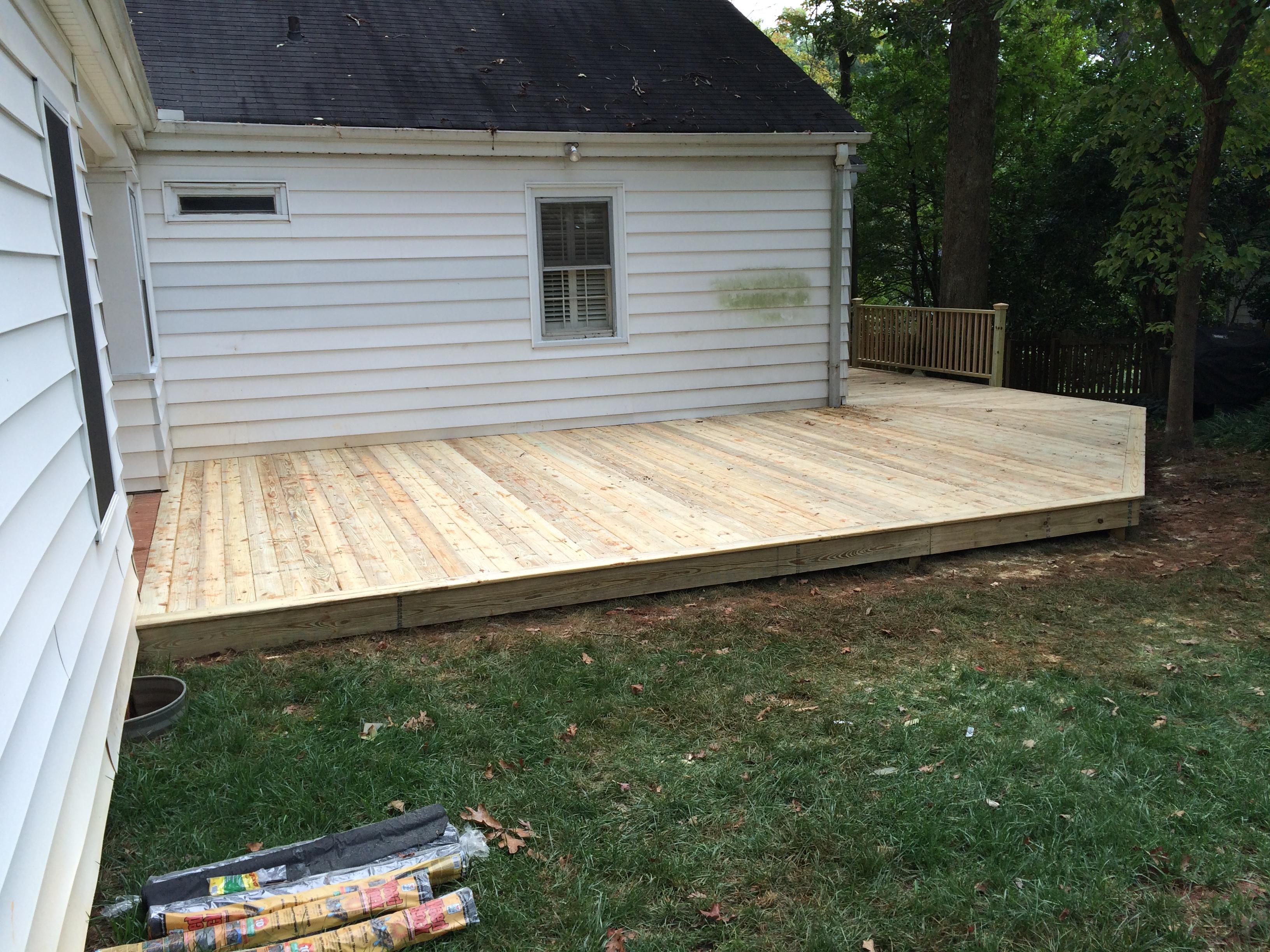 Wrap Around Deck The Carolina Carpenter