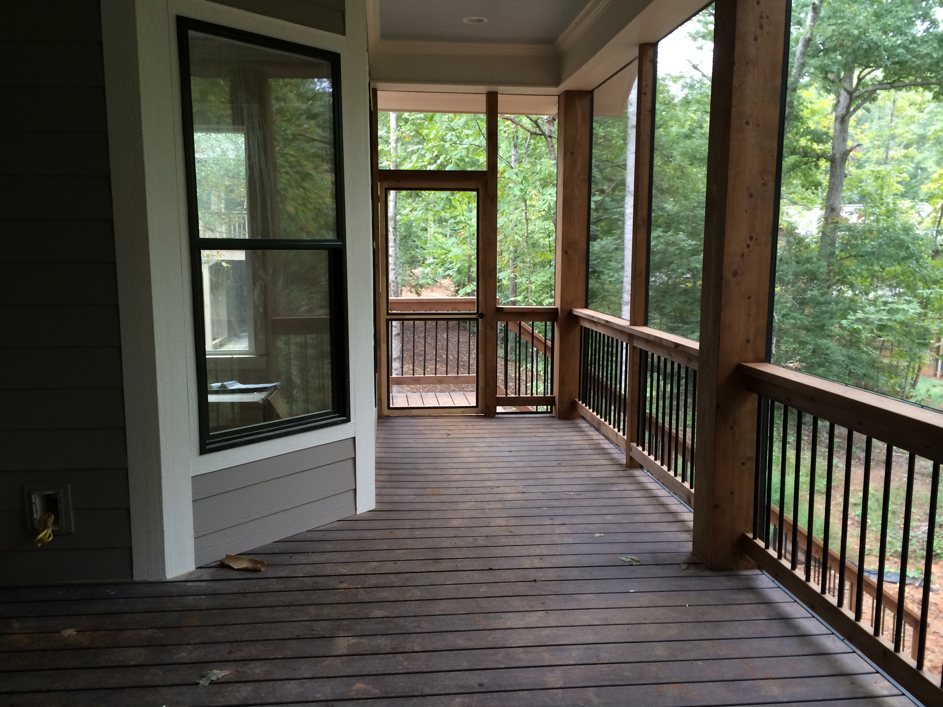 porch deck roof a img chuck hays in screen to homeimprovement building how